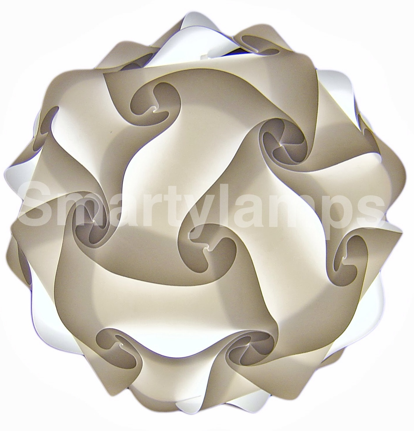 Classic sphere shaped lamp shade smarty lamps lampshades iq cosmo lampshade mozeypictures Image collections